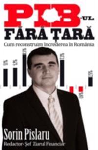 PIB-ul fara tara. Cum reconstruim increderea in Romania