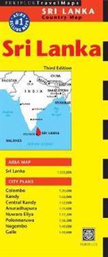 Sri Lanka Travel Map Periplus Editors Kartta Viikattu
