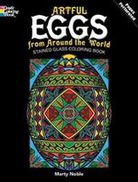 Artful Eggs from Around the World Coloring Book