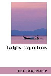 Carlyle's Essay on Burns