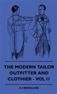 Modern Tailor Outfitter and Clothier - Vol II