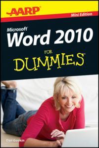 AARP Word 2010 For Dummies