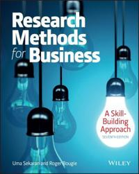 Research Methods For Business: A Skill Building Approach Seventh Edition