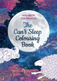 The can´t sleep coloring book