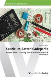 Spezielles Batterieladegerat