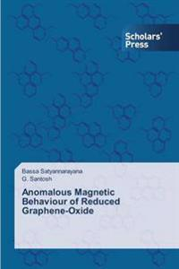 Anomalous Magnetic Behaviour of Reduced Graphene-Oxide