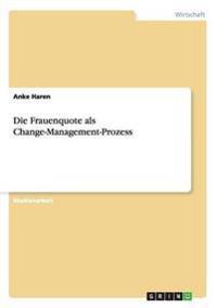 Die Frauenquote ALS Change-Management-Prozess