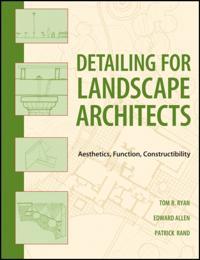 Detailing for Landscape Architects