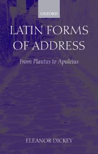 Latin Forms of Address