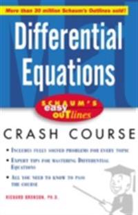 Schaum's Easy Outline of Differential Equations