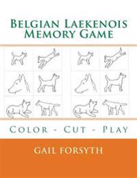 Belgian Laekenois Memory Game: Color - Cut - Play