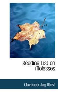 Reading List on Molasses