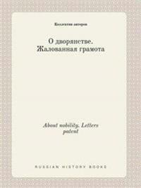About Nobility. Letters Patent