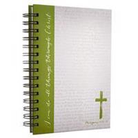 Journal Wirebound Green Cross