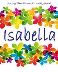 Spring Time Flowers Personal Journal - Isabella