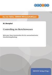 Controlling Im Berichtswesen