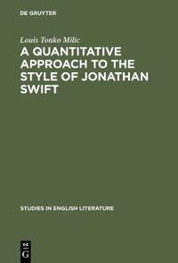 A Quantitative Approach to the Style of Jonathan Swift