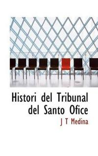 Histori del Tribunal del Santo Ofice