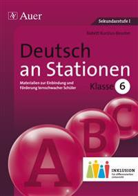 Deutsch an Stationen 6 Inklusion