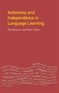 Autonomy and Independence in Language Learning
