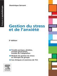 Gestion du stress et de l'anxiete