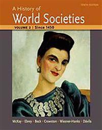A HISTORY OF WORLD SOCIETIES VOLUME