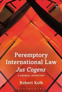 Peremptory International Law - Jus Cogens