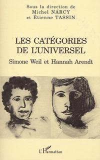 Categories de l'universel: simone weil e
