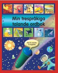 Min trespråkiga talande ordbok thai engelska svenska