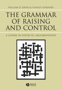 Grammar of Raising and Control