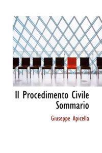 Il Procedimento Civile Sommario