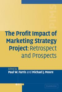 The Profit Impact of Marketing Strategy Project