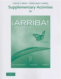 Supplementary Activities for !Arriba!: Comunicacion y Cultura