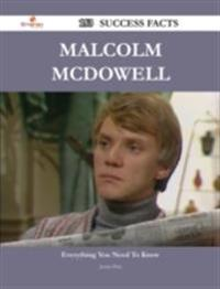 Malcolm McDowell 153 Success Facts - Everything you need to know about Malcolm McDowell