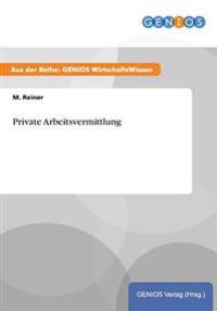 Private Arbeitsvermittlung