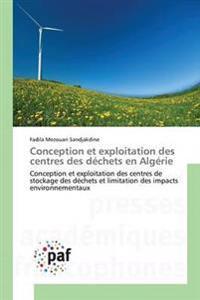 Conception Et Exploitation Des Centres Des Dechets En Algerie