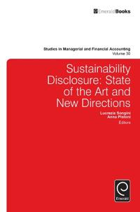 Sustainability Disclosure: State of the Art and New Directions