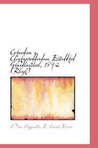 Cofnodion a Chyfansoddiadau Eisteddfod Genedlaethol, 1892 (Rhyl)