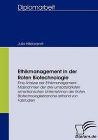 Ethikmanagement in Der Roten Biotechnologie