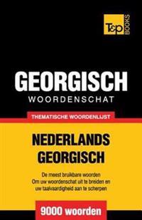 Thematische Woordenschat Nederlands-Georgisch - 9000 Woorden