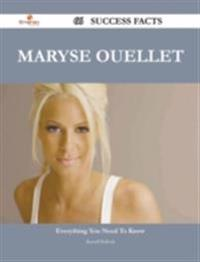 Maryse Ouellet 66 Success Facts - Everything you need to know about Maryse Ouellet