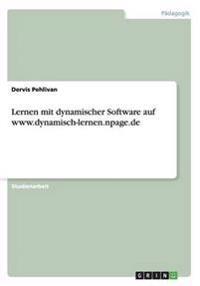 Lernen Mit Dynamischer Software Auf WWW.Dynamisch-Lernen.Npage.de