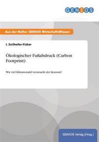 Okologischer Fussabdruck (Carbon Footprint)
