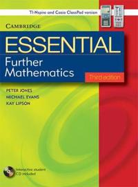 Essential Further Mathematics with Student CD-ROM TIN/CP Version