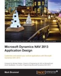 Microsoft Dynamics NAV 2013 Application Design