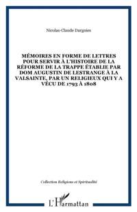 Memoires en forme de lettres