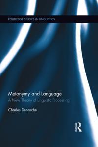 Metonymy and Language