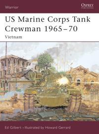 US Marine Corps Tank Crewman 1965 70