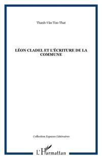 Leon Cladel et l'ecriture de la Commune