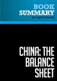 Summary: China: The Balance Sheet